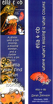 Ella and Ob bookmark
